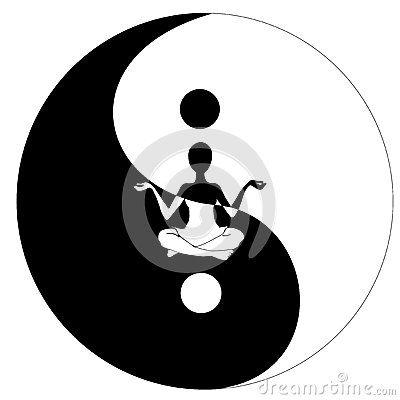 Símbolo y yoga de Yin yang   Med....Zen----Refle<<<<<   Pinterest ...