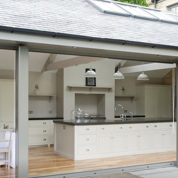 Design Your Own Home Extension: A Divine Kitchen, In It's Own Extension...heavenly