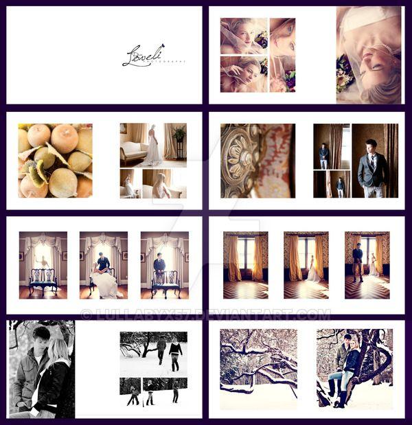 Wedding album layout by lullabyx57.deviantart.com on ...