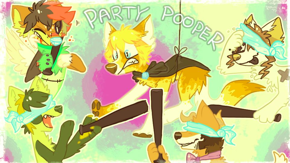 lupisvulpes audience episode 1 party pooper!