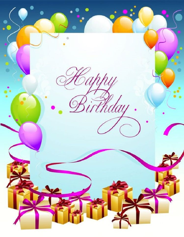 Happy Birthday Invitation Card With Photo Editing Online