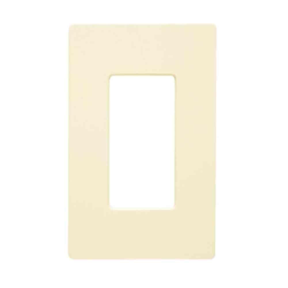 Lutron Claro 1 Gang Decorator Wallplate Light Almond Cw 1 La