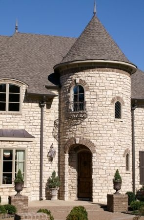 Memphis Stone And Stucco House Styles Architecture Stucco