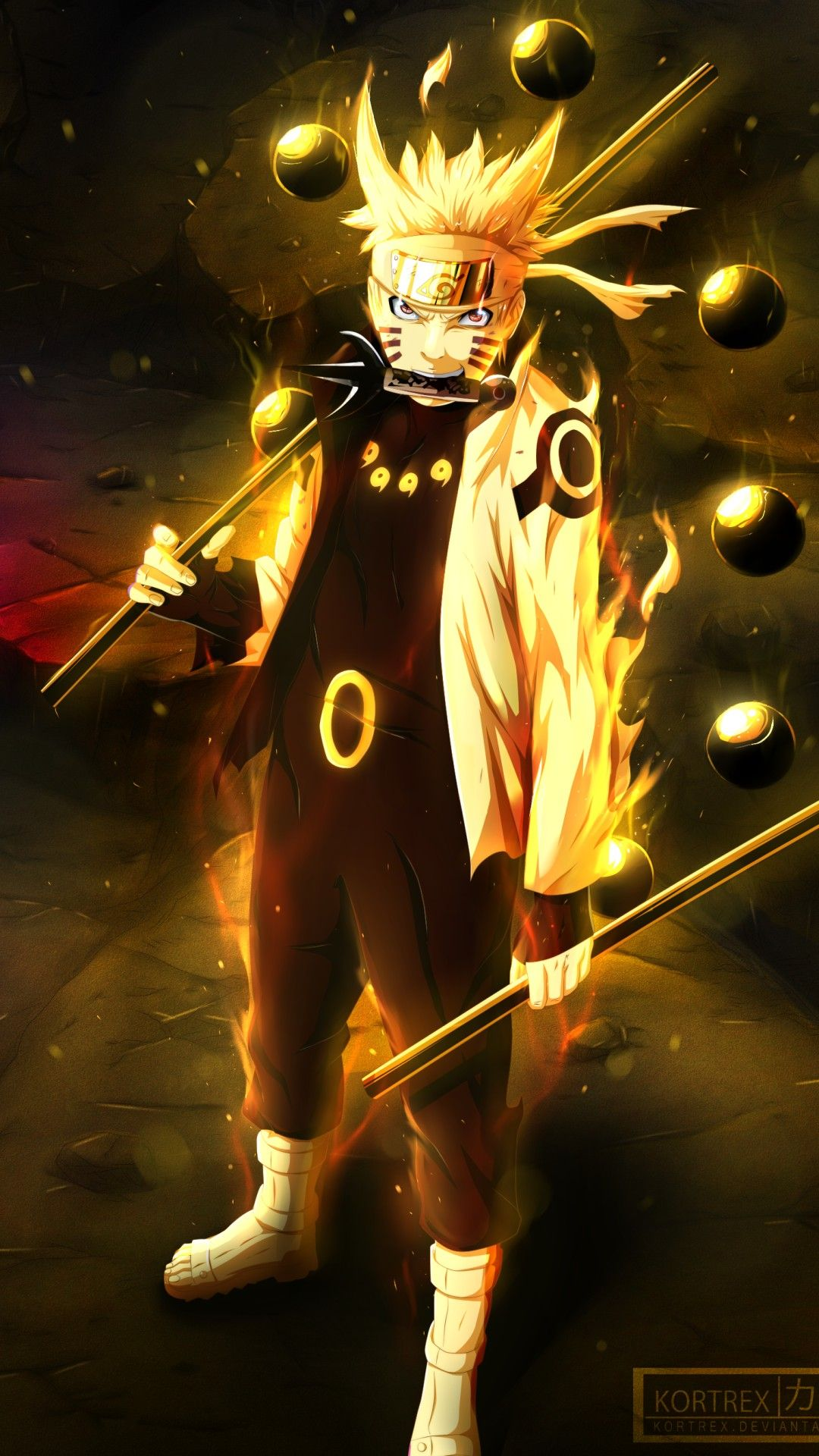 Wallpaper Phone Naruto Full Hd Naruto E Sasuke Desenho Animes