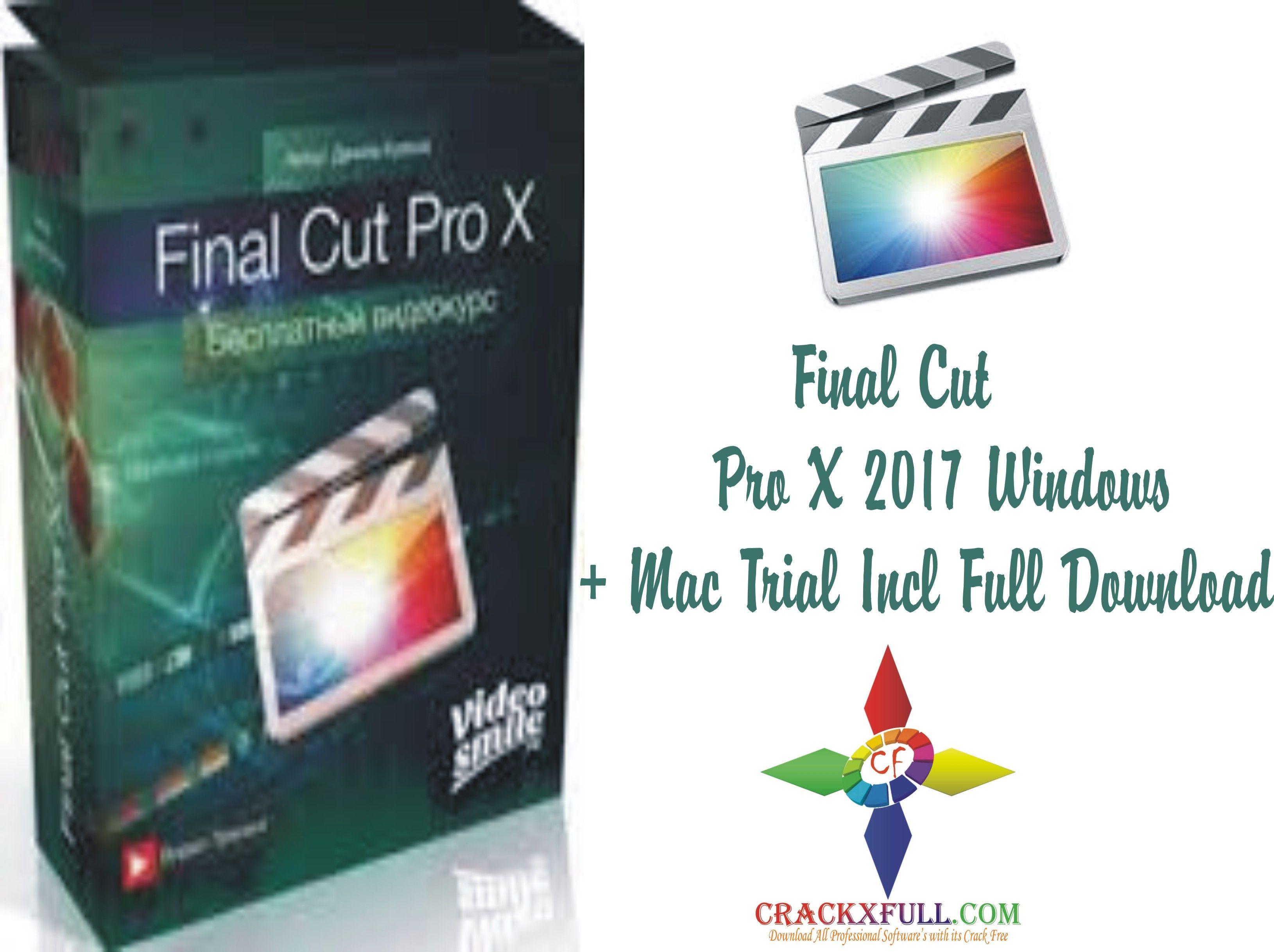 final cut pro trial version for mac