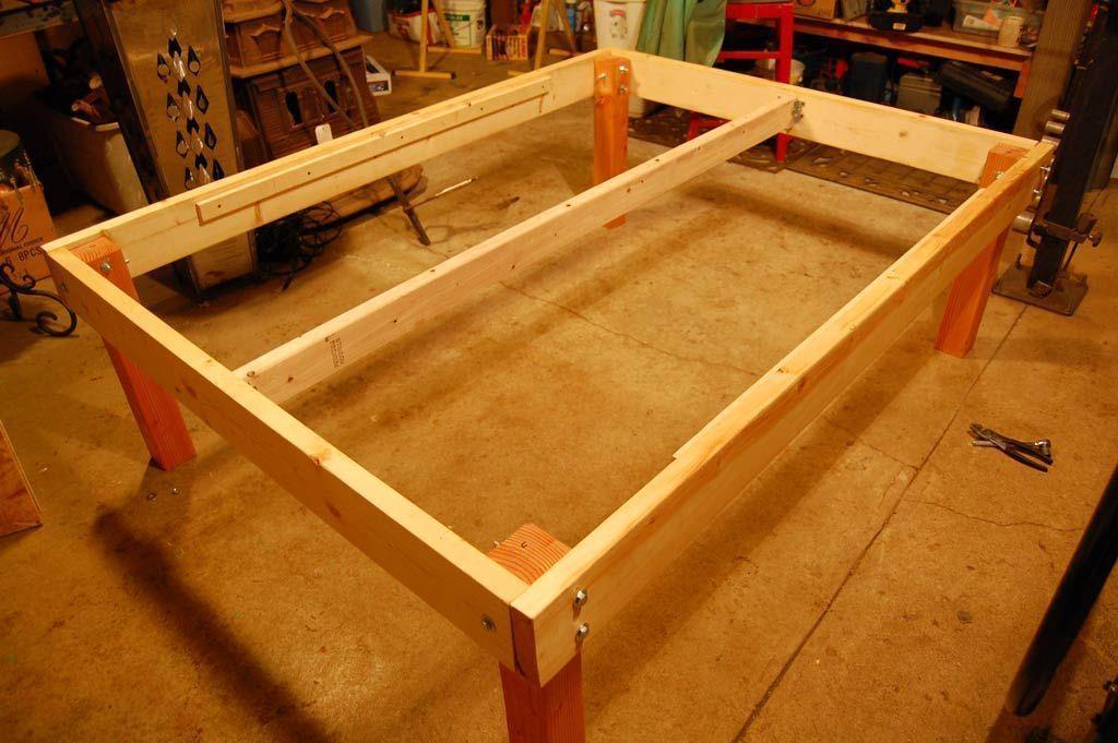How To Build A Wood Platform Bed Frame Diy Platform Bed Frame Diy Platform Bed Build A Platform Bed