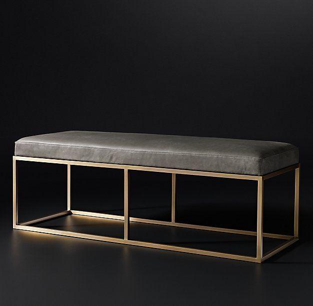 Brass Bed From RH Modern   Decoist | Beds | Pinterest | Brass Bed, Modern  And Bedrooms
