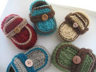 Its Hard To Find A Cutemodern Crochet Pattern For Booties This