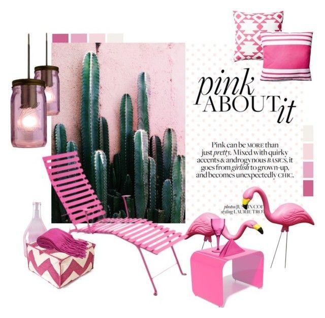 """""""Pink Garden"""" by marisa-martinez-interiorista on Polyvore"""