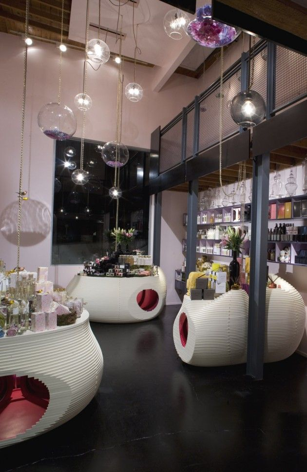 RK Apothecary by The Los Angeles Design Group The Los Angeles Design Group have created an interior design for RK Apothecary a store that sells bath and body nbsp hellip