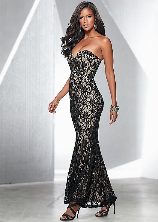 Venus Lace Bodice Cocktail Dress