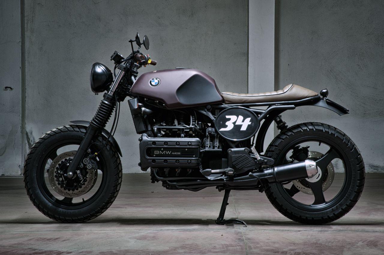 Brutal Beauty Bmw K100 By Motorecyclos Motorcycles Bmw K100