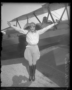 Gladys Roy (1902-1927) A barnstormer during the 1920s