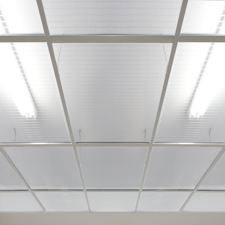 Clear Ceiling Tiles