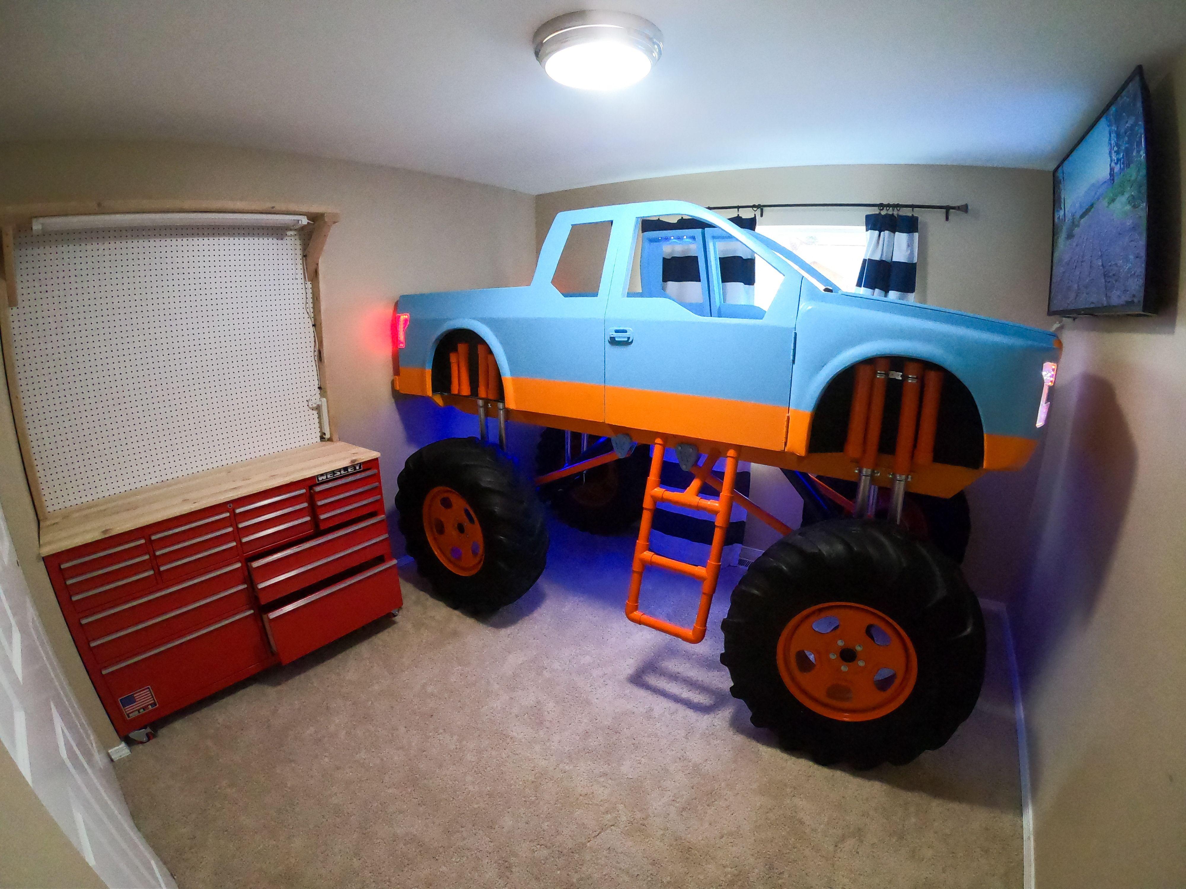 Monster Truck Bedroom