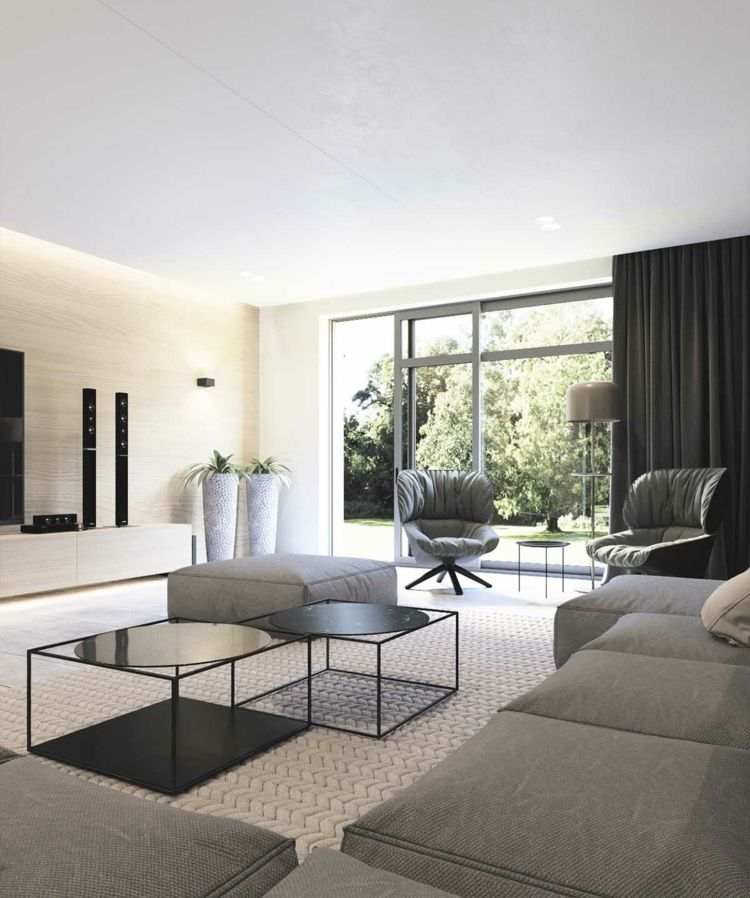 Wunderbar Moderne Inneneinrichtung Im Wohnzimmer