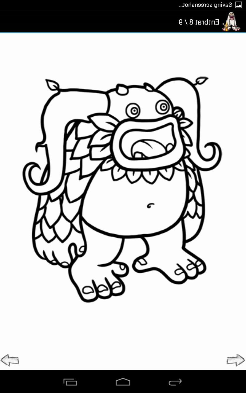 My Singing Monsters Coloring Book Luxury My Singing Monsters Coloring Pages In 2020 Monster Coloring Pages Singing Monsters My Singing Monsters