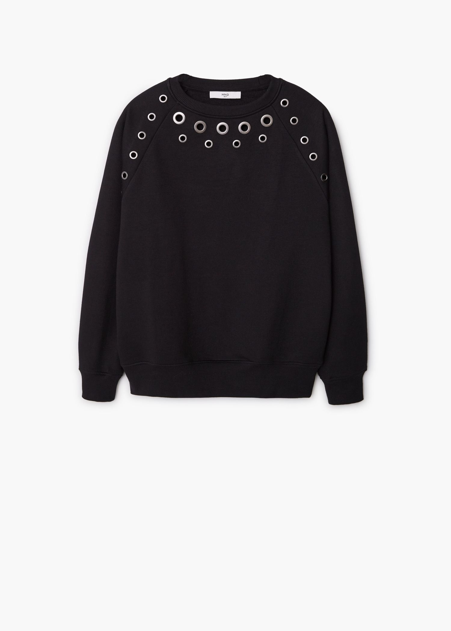 5c995d855b6 Studded sweatshirt - Cardigans and sweaters for Women