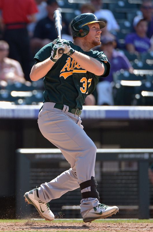 Brandon Moss Oakland Athletics Baseball Baseball Guys Mlb American League
