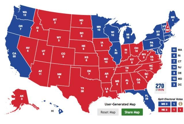 Republicans have a massive electoral map problem that has nothing to do with Donald Trump