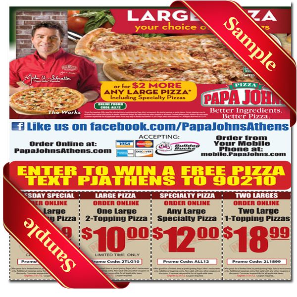 photograph relating to Papa Johns Printable Coupons named Papa Johns Printable Coupon December 2016 Printable