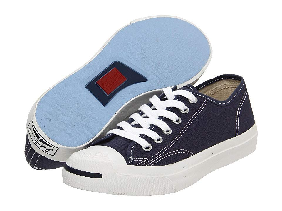 cea8ab9824 Converse Jack Purcell(r) CP Canvas Low Top (Navy Blue/White) Classic Shoes.  The timeless Jack Purcell CP sneaker has gone virtually unchanged since the  ' ...