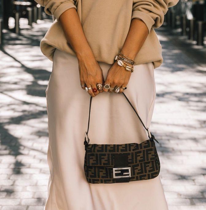 Fendi baguette | Fashion, Fendi bags, Fall handbags