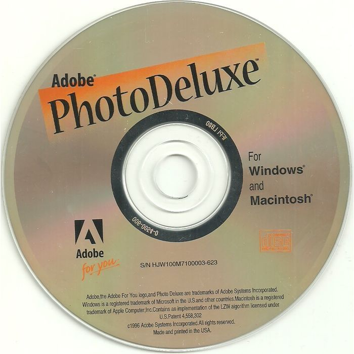 PC Software 1996 Vintage Adobe Photo Deluxe For Windows And Macintosh Listing In The Desktop PublishingSoftwareComputing Category On EBid Canada