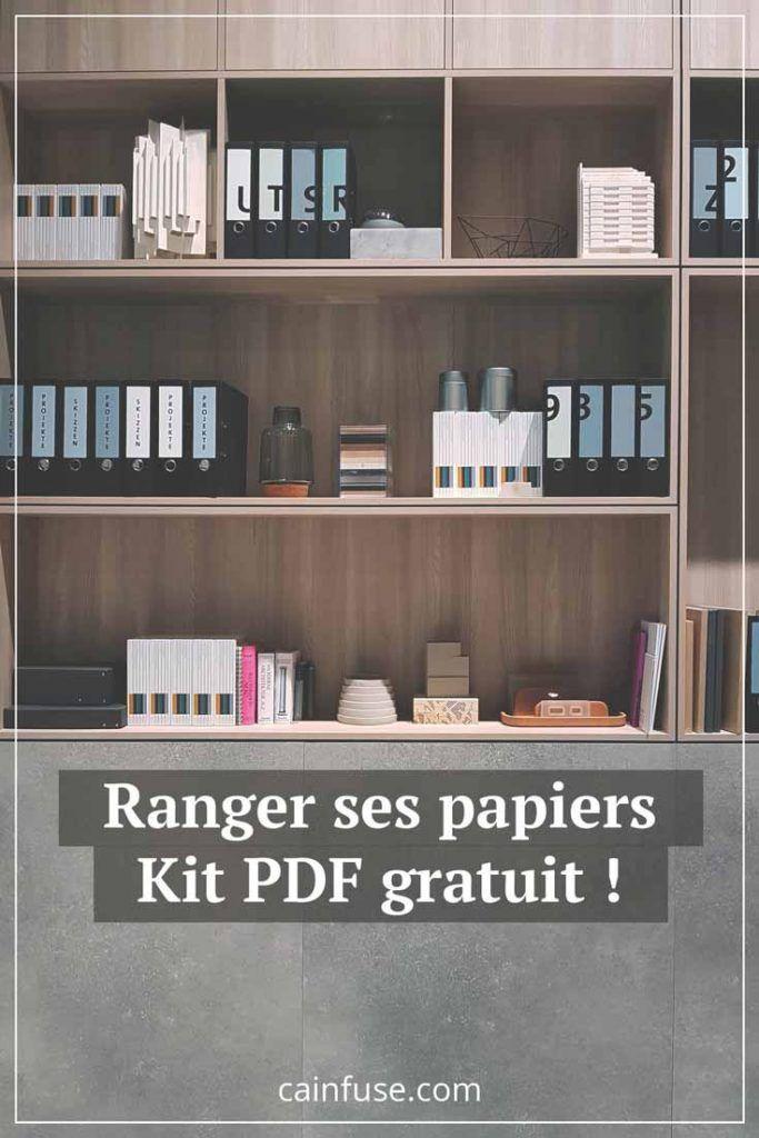 Papiers Ranges Blog Ca Infuse Rangement Papier Administratif Agencer Les Meubles Rangement Papier Bureau