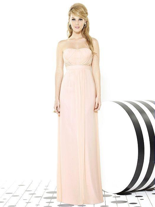 After Six Bridesmaids Style 6710 | Chiffon bridesmaid dresses ...