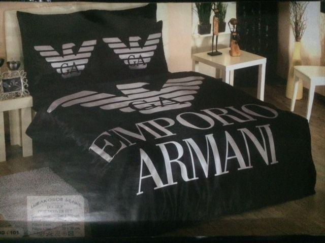 armani bed set unbedingt kaufen pinterest bed linen bedding und bedding sets. Black Bedroom Furniture Sets. Home Design Ideas