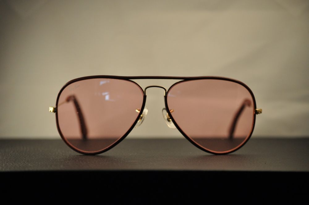 ac85f90a90 Vintage Ray Ban by Bausch   Lomb 3025 Aviator- Limited Edition  Leathers  (