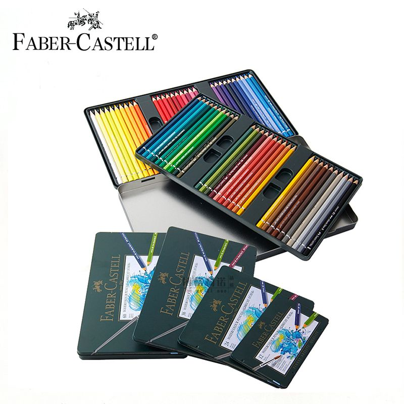 Faber Castell 12 24 36 60colors Water Soluble Colored Pencils