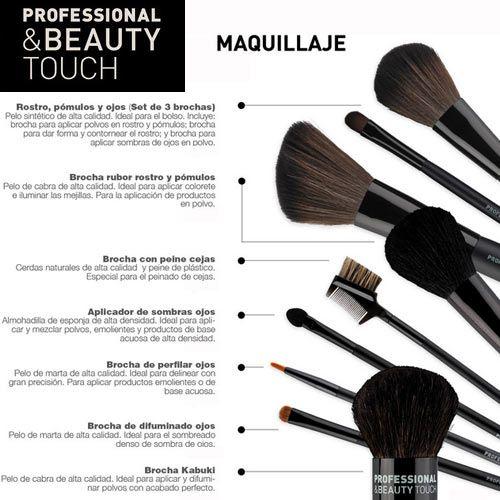 c4496ada4 tipos de brochas para maquillaje y su uso - Buscar con Google | MAKE ...