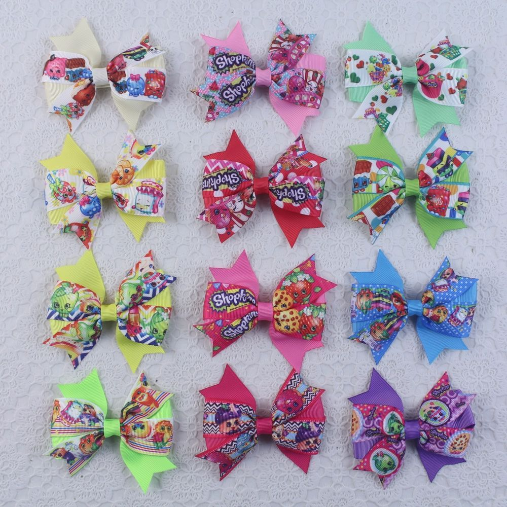 Hairpin Baby Boutique Hair Bows With Clips for Girls Baby 50Pcs H9A7 EL