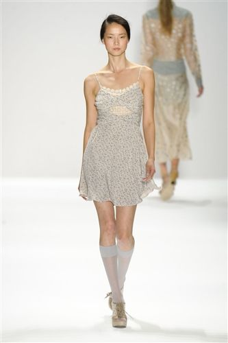 Charlotte Ronson Spring 2012 #fashion #runway