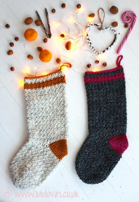 Lululoves crochet christmas stocking | crochet | Pinterest ...