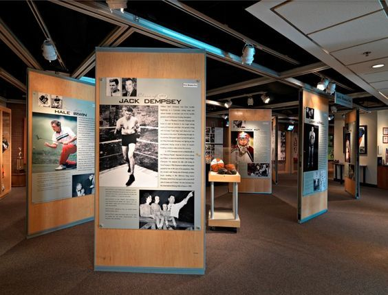Furniture Design Hall Of Fame movable partitions-museum wall panels-colorado sports hall of fame