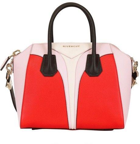 Women s Red Small Antigona Architect Leather Bag   Givenchy, Bag and ... ba609015b3