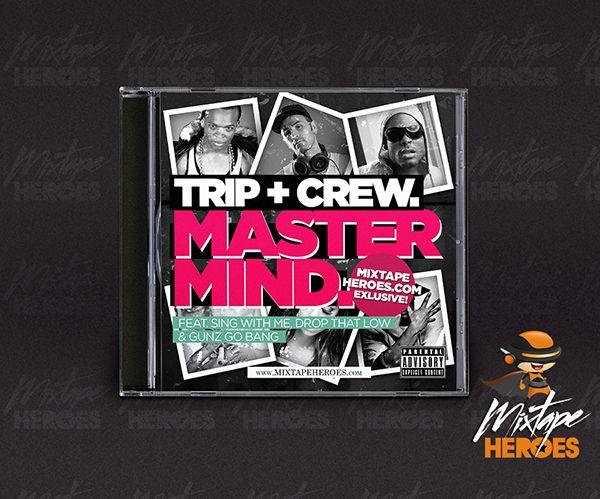 mastermind mixtape template free psd photoshop mixtape cover