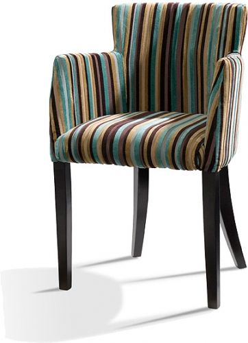 Low Back Upholstered Dining Chairs With Arms | Whether It Be Upholstered In  A Fabric Combination
