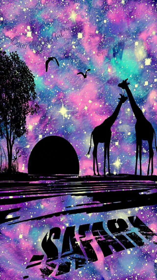 Galaxy Safari Wallpaper Seni