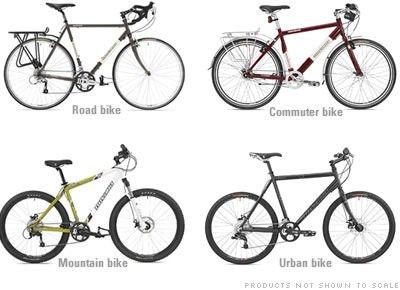 How to choose commuter bike gear.