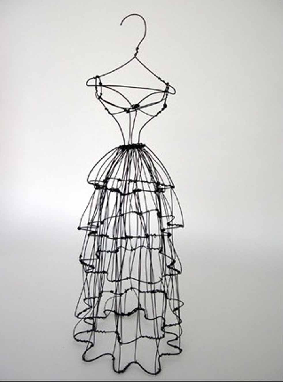 Leigh Pennebaker 3D wire fashion - Recherche Google | DIY and crafts ...