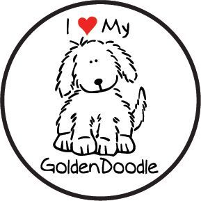 Goldendoodle Gifts For Dog Lovers My Rulez Sketch Coloring Sketch