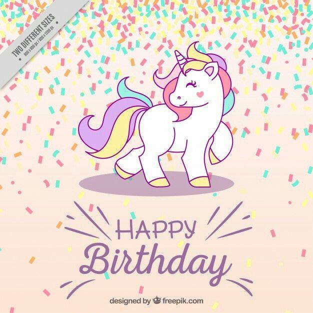 Pin By Adyson On Unicornios Birthday Wallpaper Happy Birthday Design Unicorn Happy birthday unicorn wallpaper