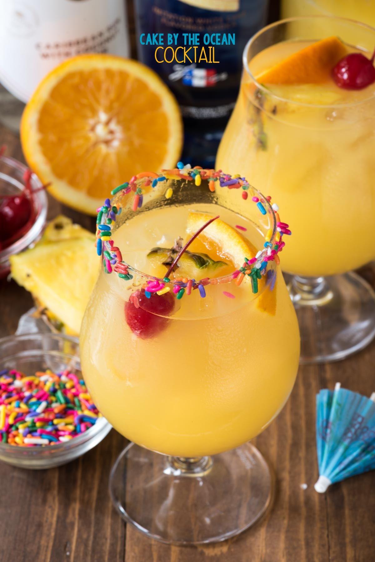 Alcohol cocktail cake recipes
