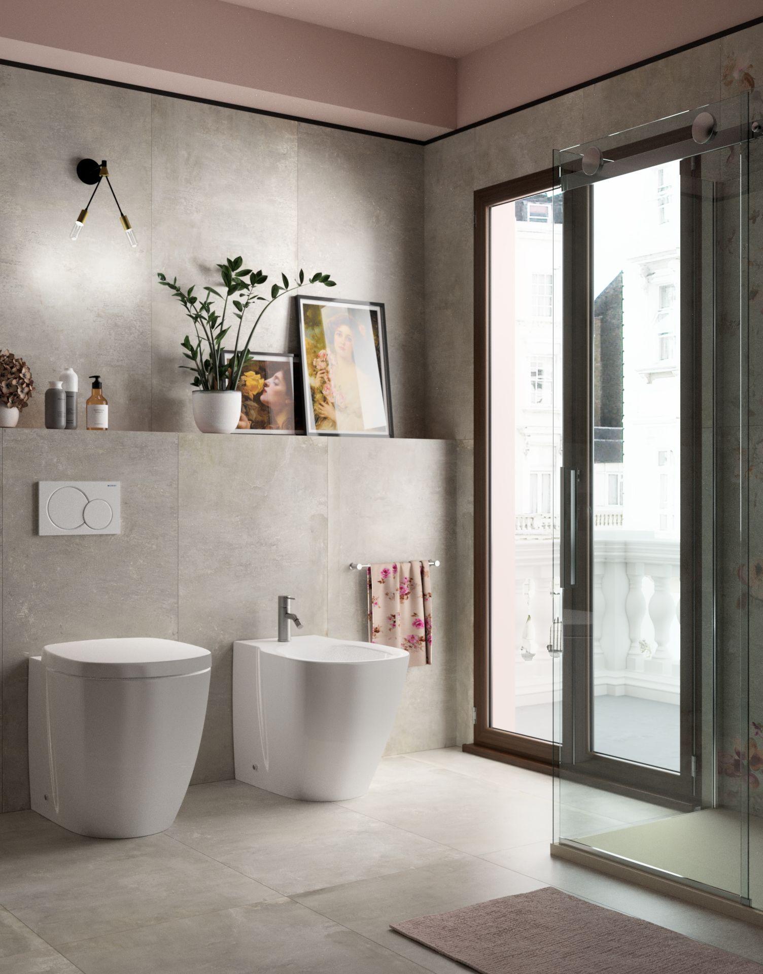 Porta doccia scorrevole Skyline 117119,5, H 200 cm