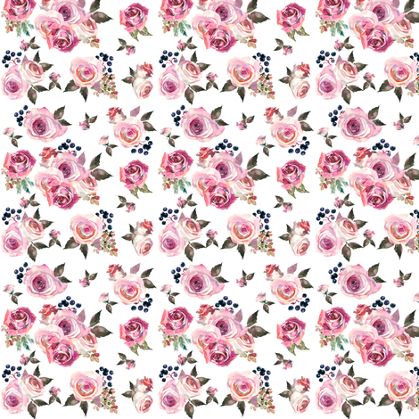 Colorful fabrics digitally printed by Spoonflower Dusty