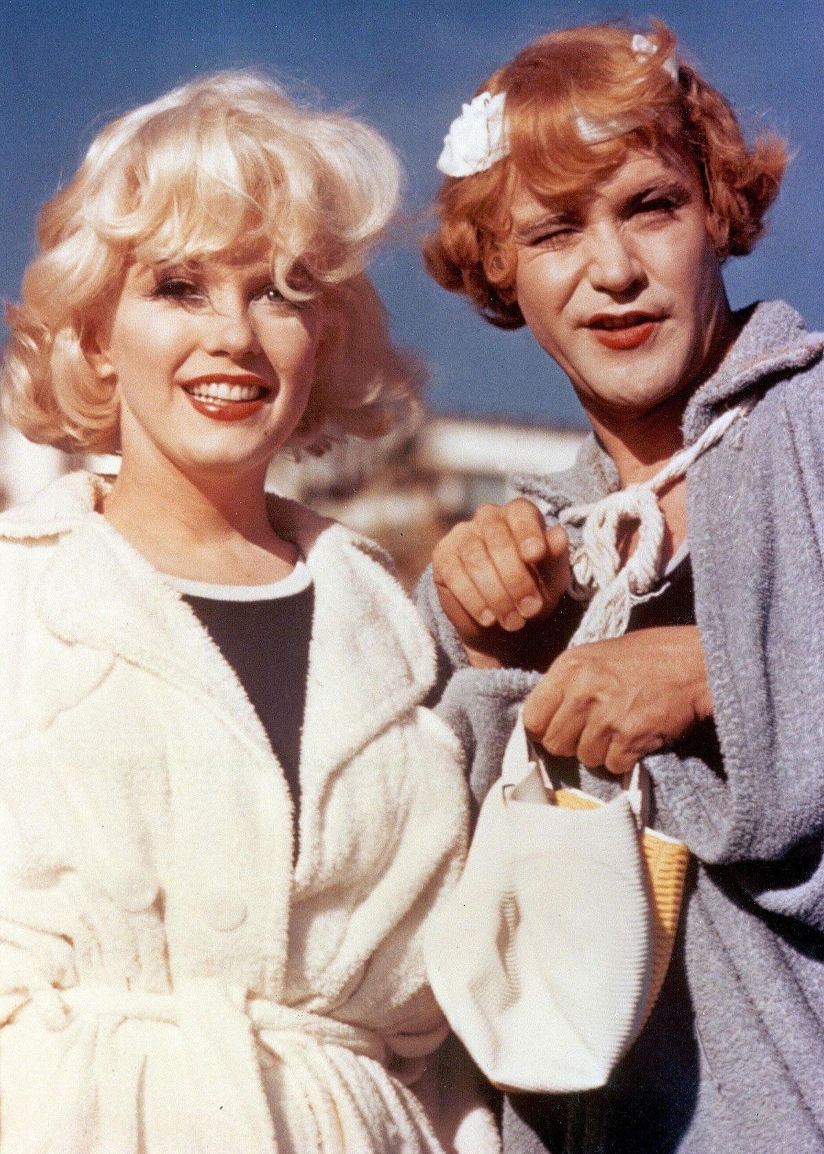 Marilyn Monroe And Jack Lemmon In Billy Wilder S Some Like It Hot
